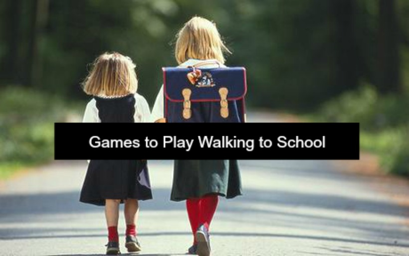 Fun games to play while walking to school