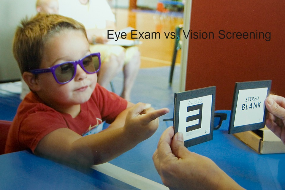 Eye Exam vs. Vision Screening: Is There A Difference?