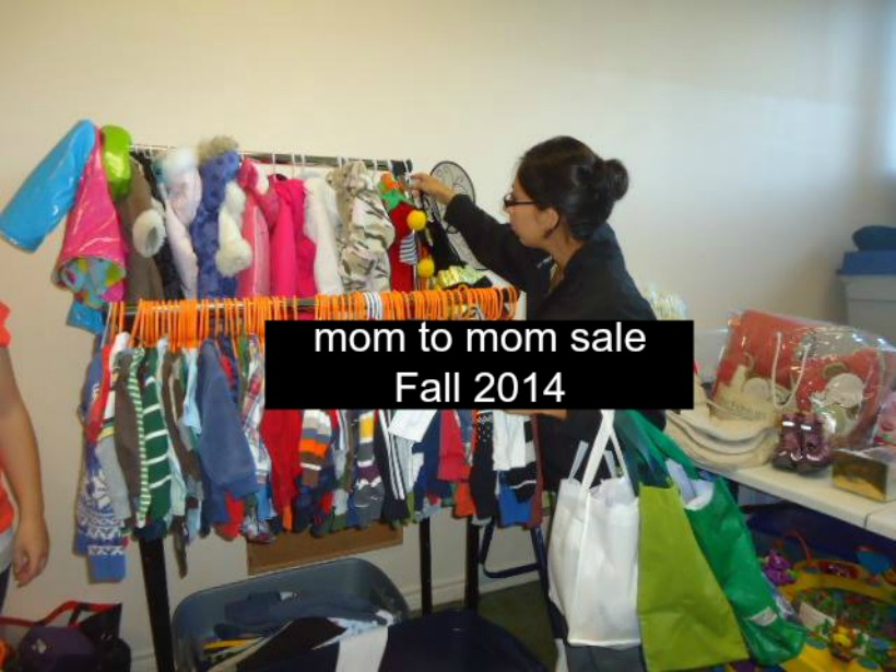 momstown Milton Fall Mom to Mom Sale – October 18