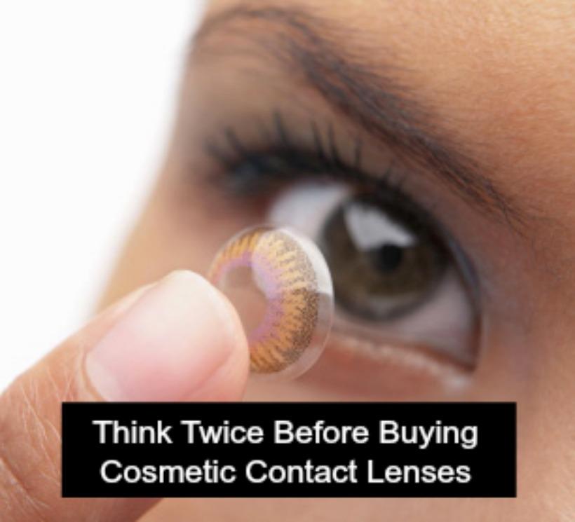 Think Twice Before Buying Cosmetic Contact Lenses This Year For Halloween