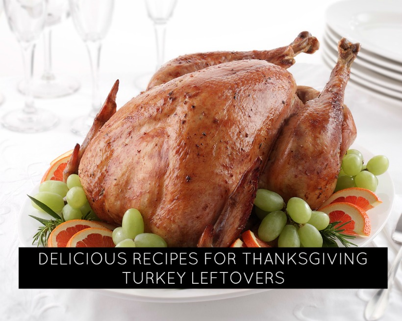 Delicious Recipes for Thanksgiving Turkey leftovers!
