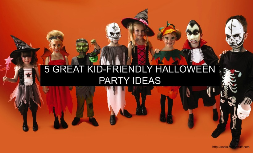 Pumpkins, Potlucks and Scary Movie Marathons: 5 Great Kid-Friendly Halloween Party Ideas
