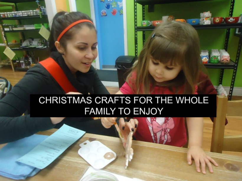 Christmas Crafts for the Whole Family to Enjoy!