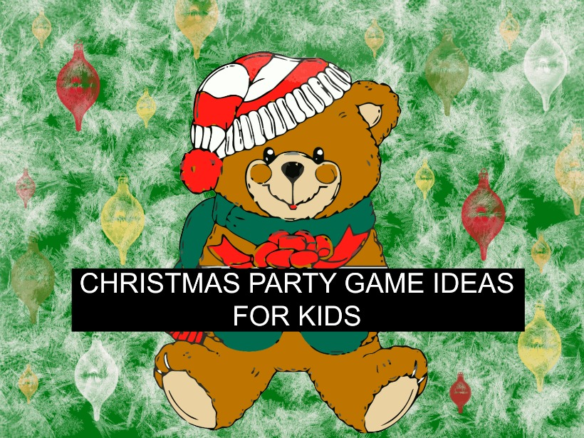 Christmas Party Game Ideas for Kids