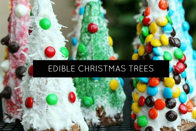 Healthy Holiday Cooking With Kids Edible Christmas Trees