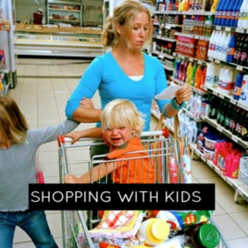 Shopping With Kids or Why It Takes All Day To Buy Groceries