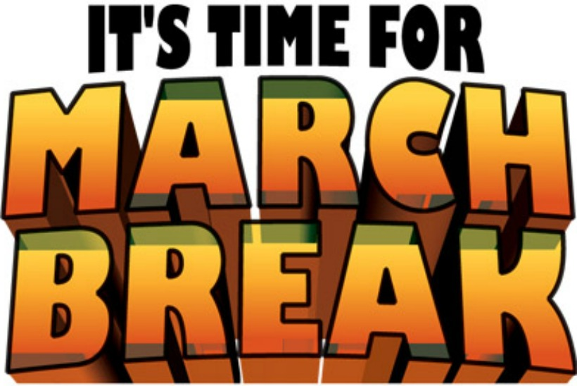 Fun and Educational Trip Suggestions to do with the family during March Break