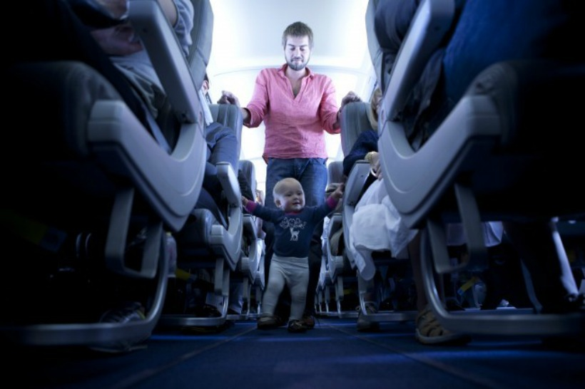 Tips on how Dads can help make travelling with the kids less stressful.