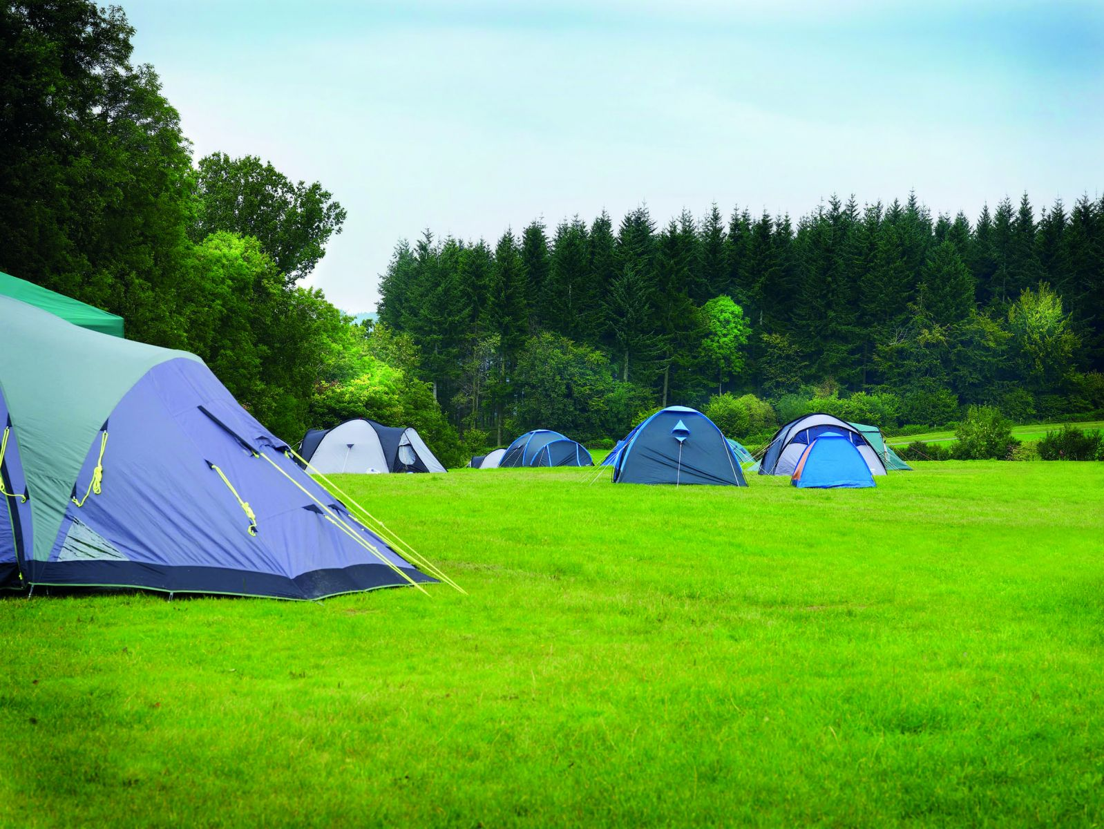 Family Friendly Camping in Halton and Surrounding Areas