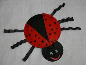 Ladybug Craft for Your Toddler